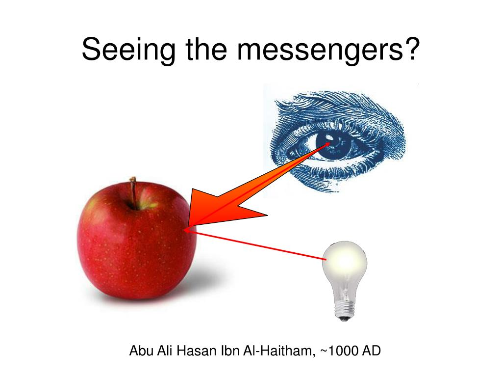 Seeing the messengers?