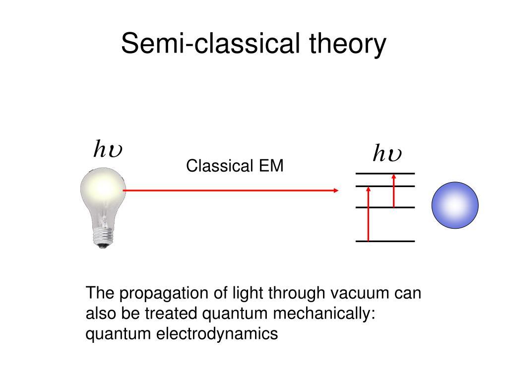 Semi-classical theory