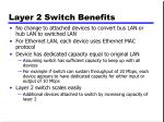layer 2 switch benefits