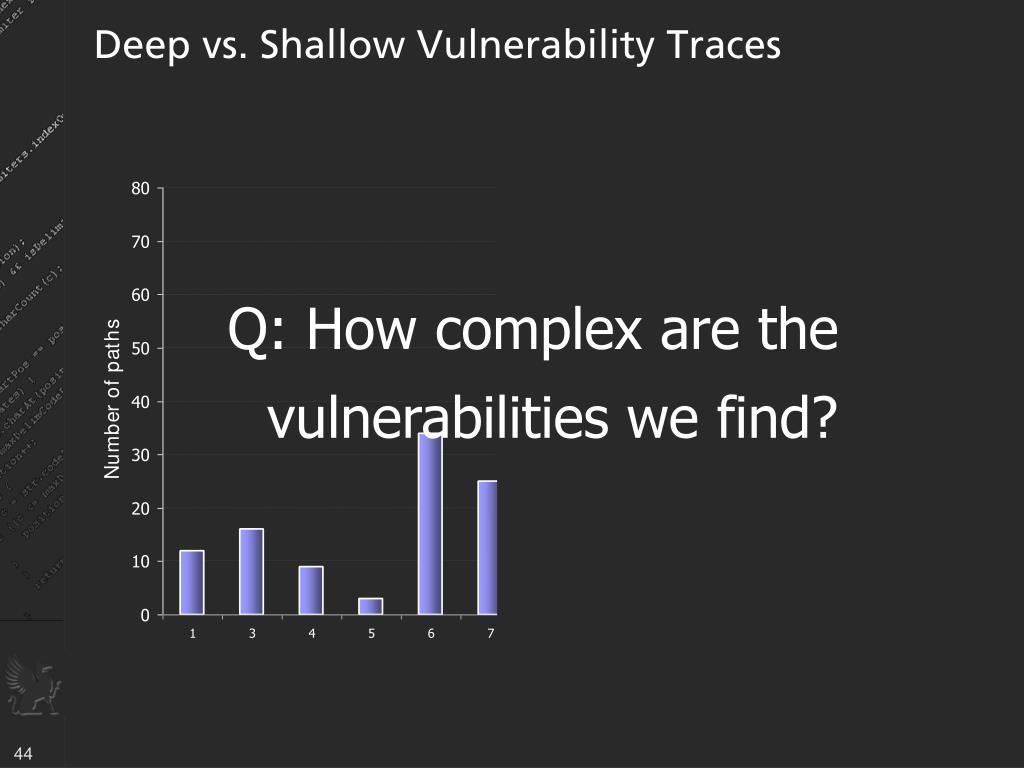 Deep vs. Shallow Vulnerability Traces
