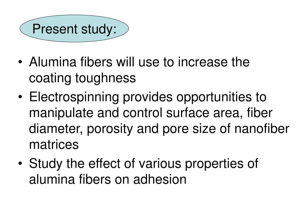 Present study: