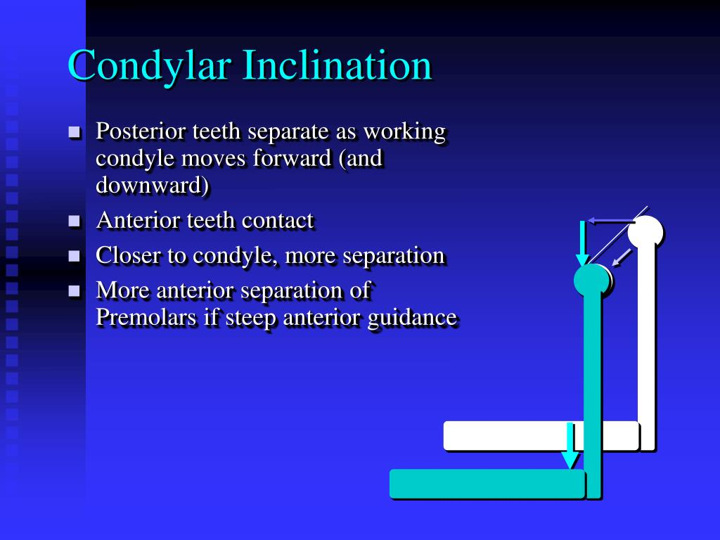 Condylar Inclination