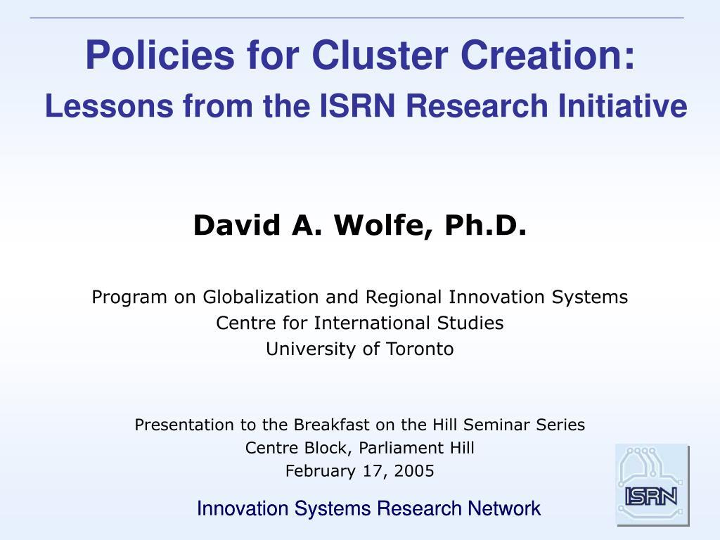 David A. Wolfe, Ph.D.