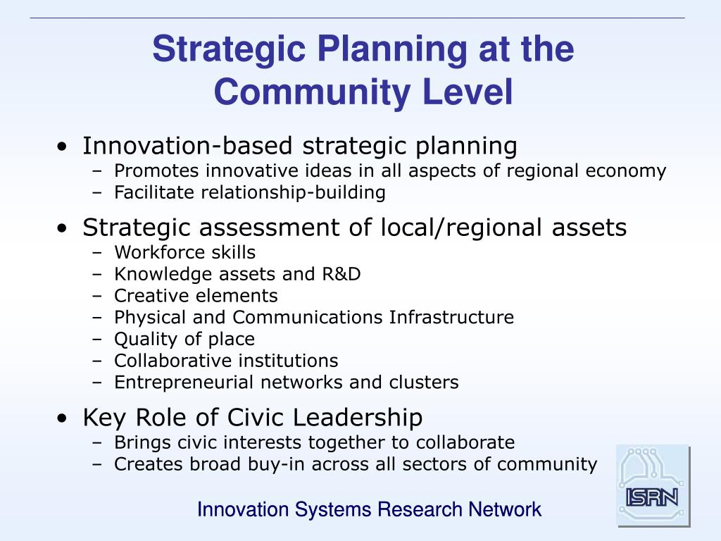 Strategic Planning at the