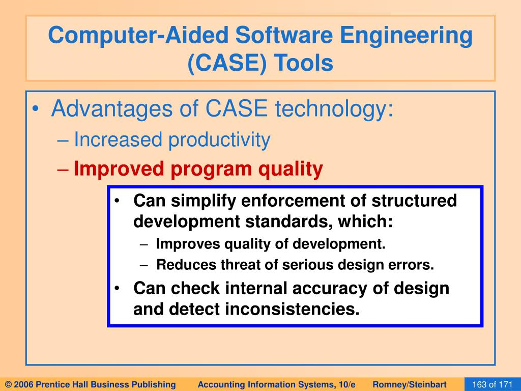 Computer-Aided Software Engineering (CASE) Tools