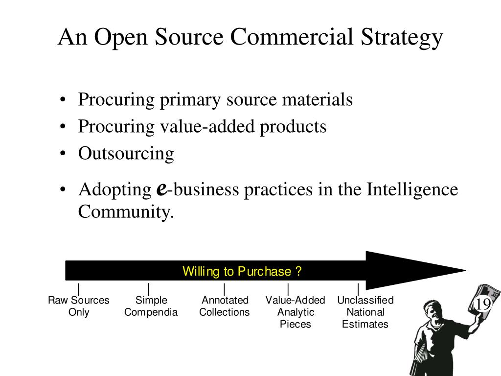 An Open Source Commercial Strategy