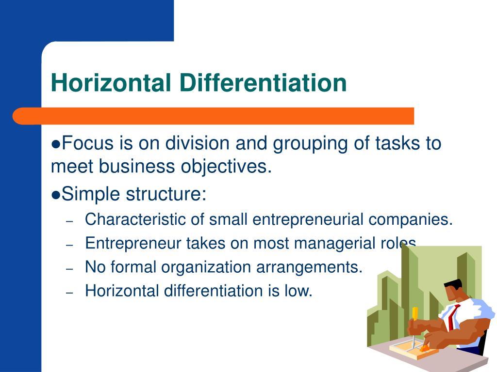 Horizontal Differentiation