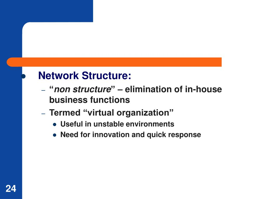 Network Structure: