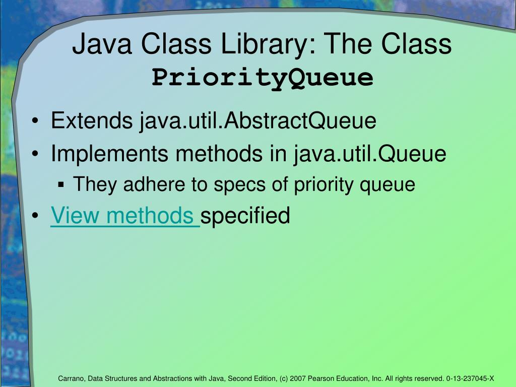 Java Class Library: The Class