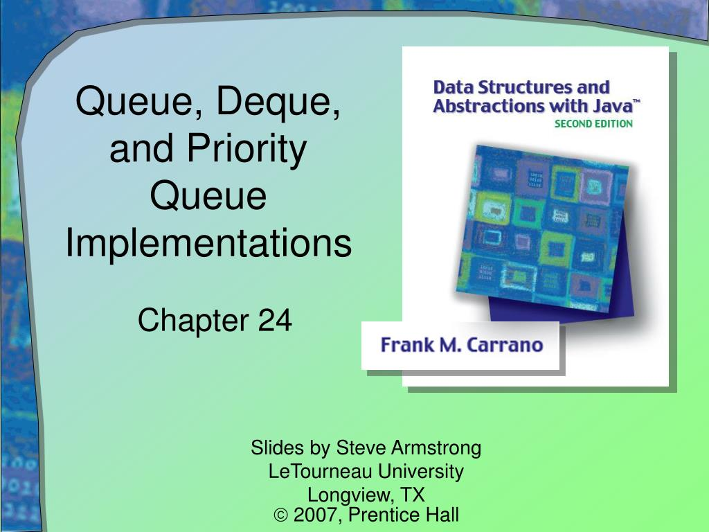 Queue, Deque, and Priority Queue Implementations