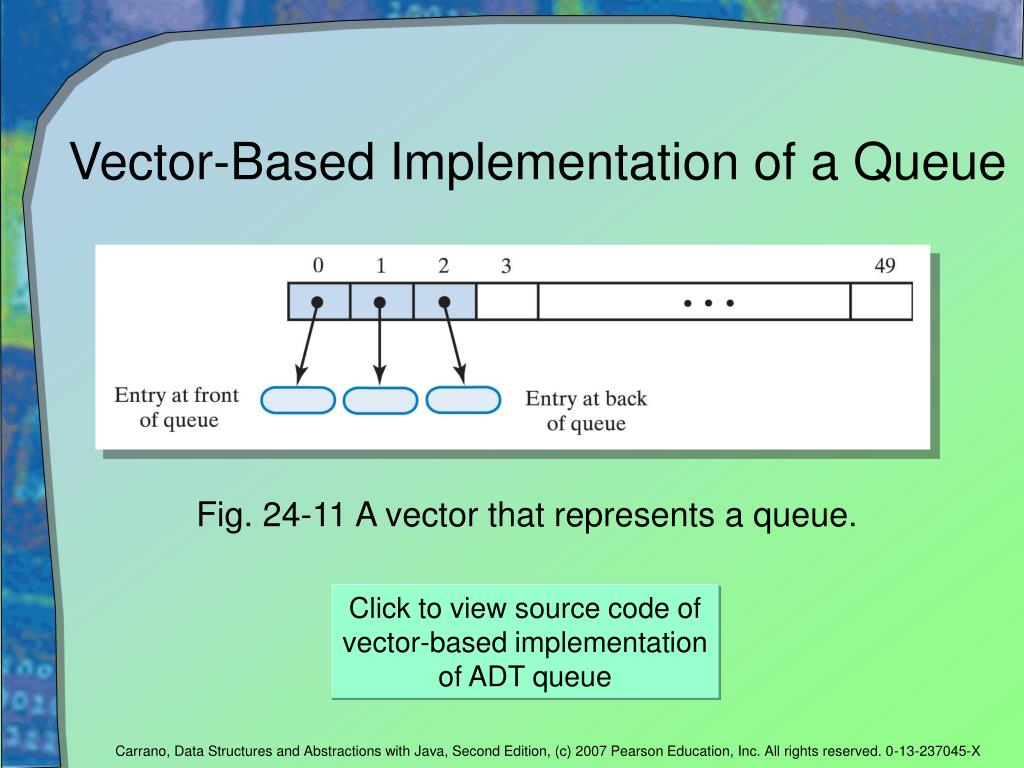 Vector-Based Implementation of a Queue