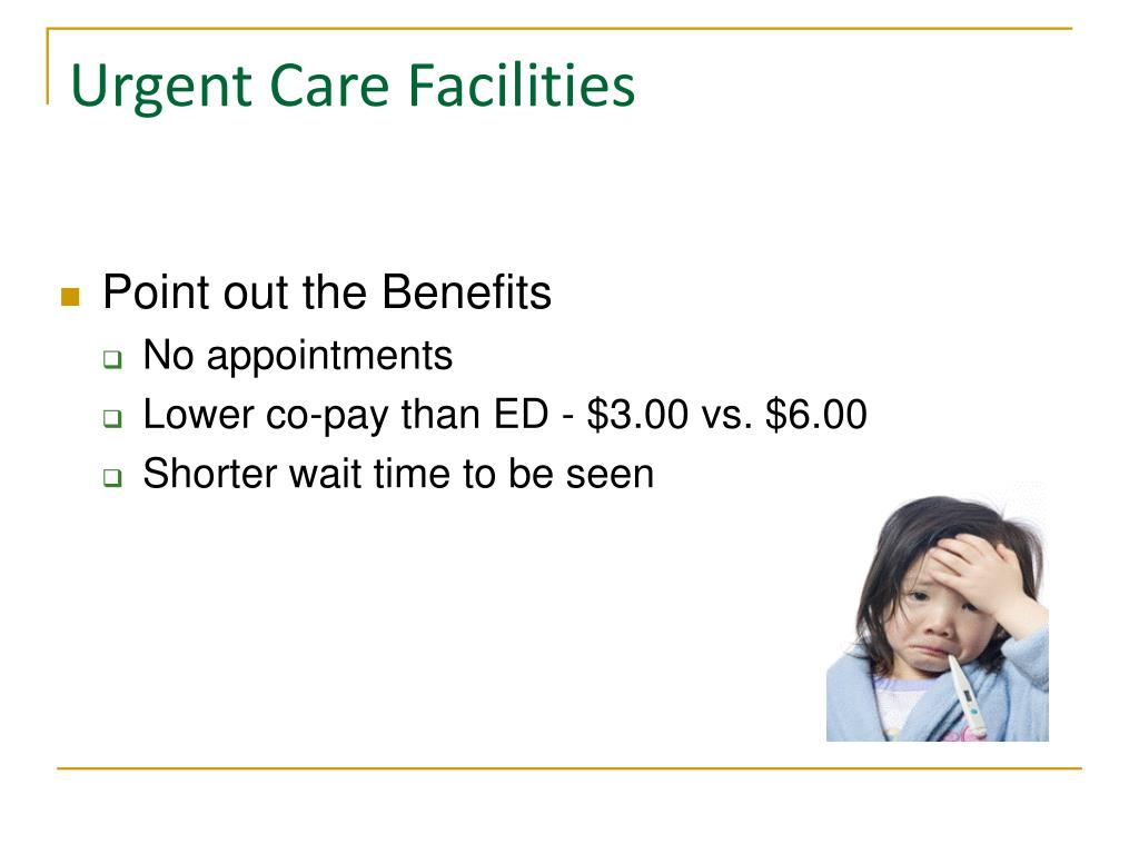 Urgent Care Facilities