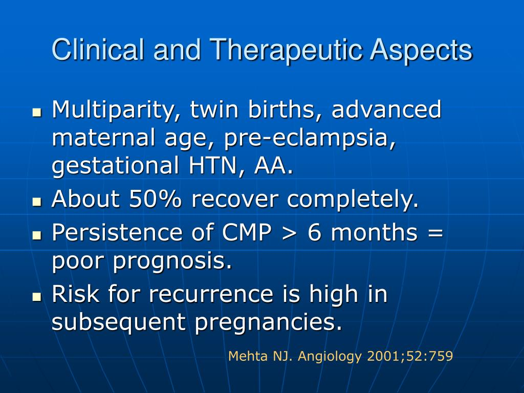 Clinical and Therapeutic Aspects