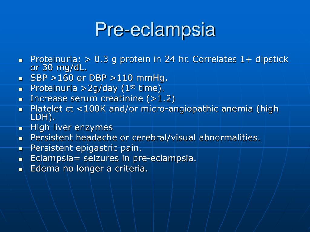 Pre-eclampsia