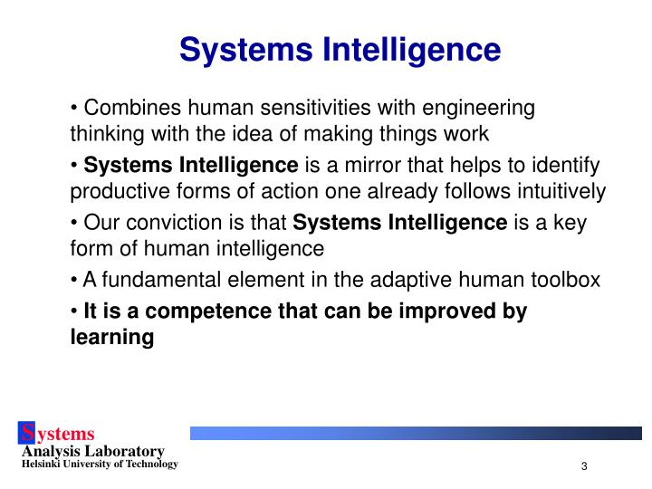 Systems intelligence3