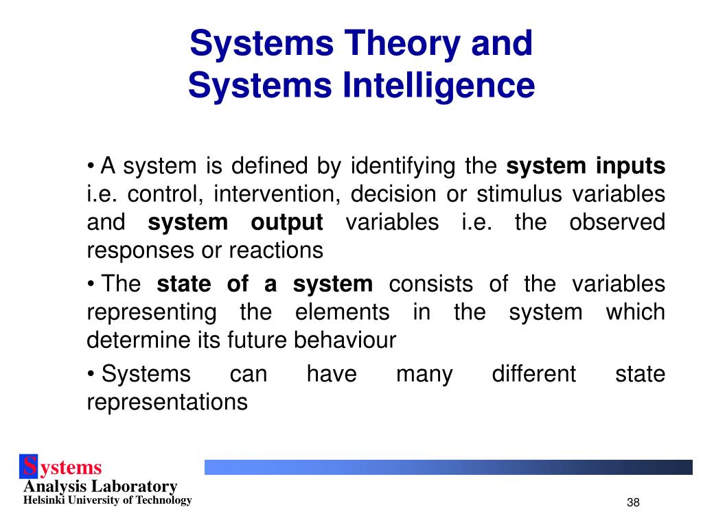 Systems Theory and