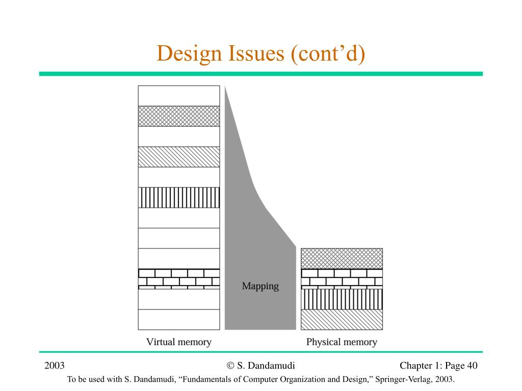 Design Issues (cont'd)
