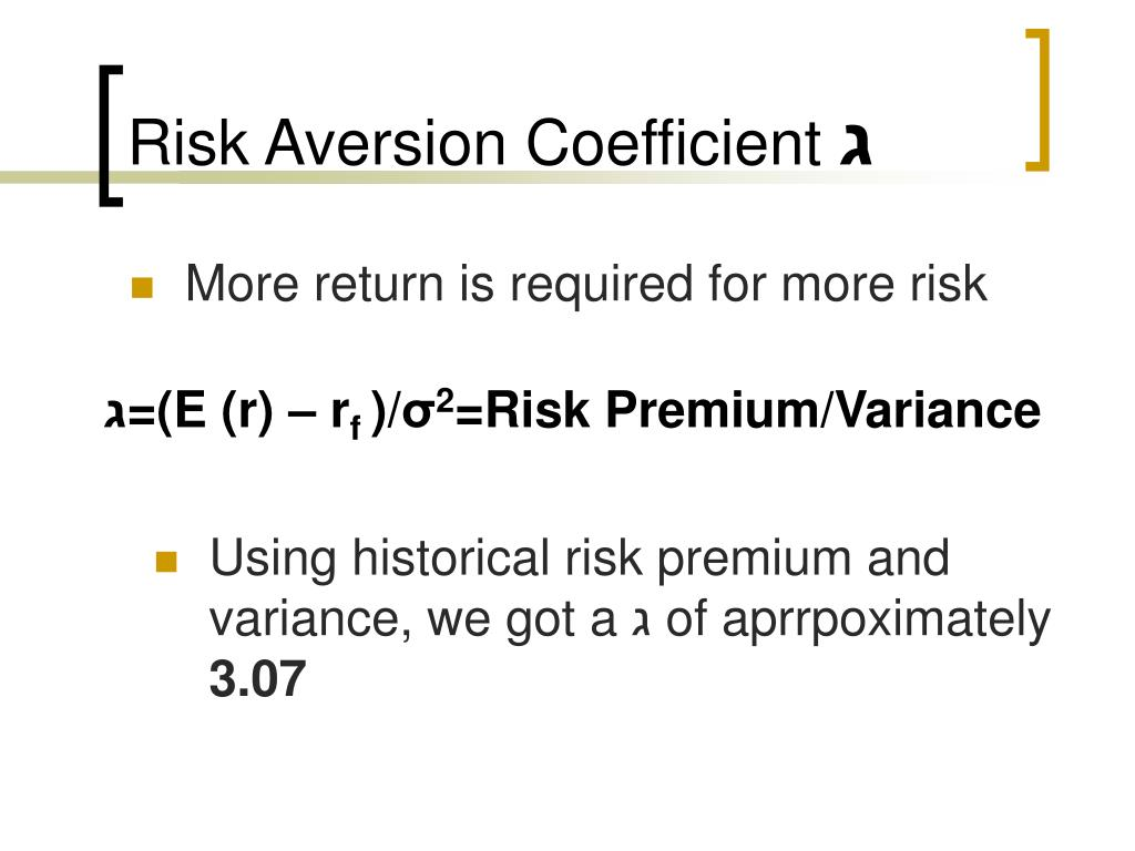 answers risk aversion and security Risk aversion and question your answer correct the more idiosyncratic risk in the return of a security, the larger the risk premium investors will demand.
