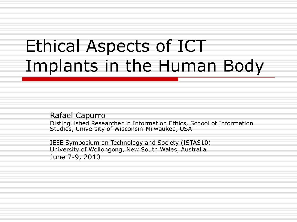 aspects of ict The international institute for science, technology and education (iiste) science, technology and medicine journals call for academic manuscripts.