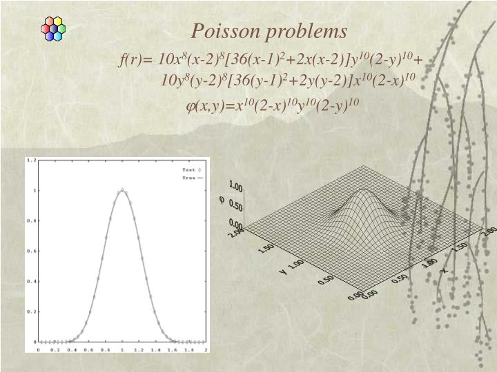 Poisson problems