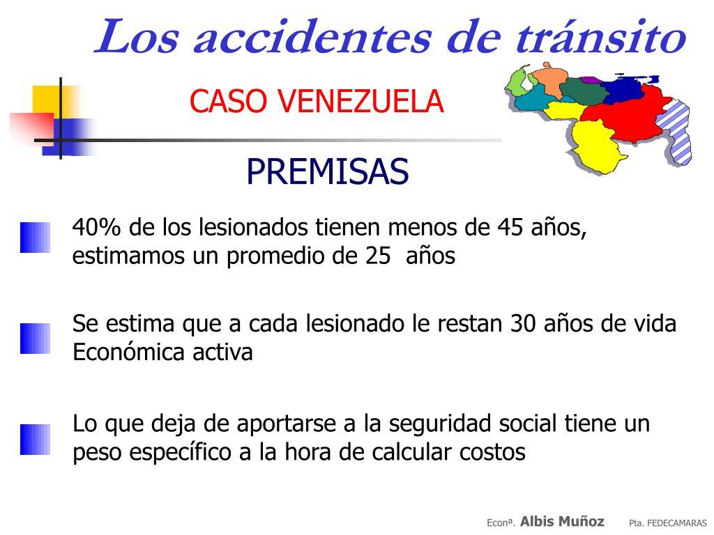 Los accidentes de tránsito