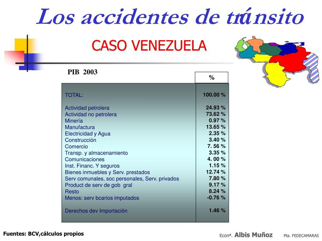 Los accidentes de tr
