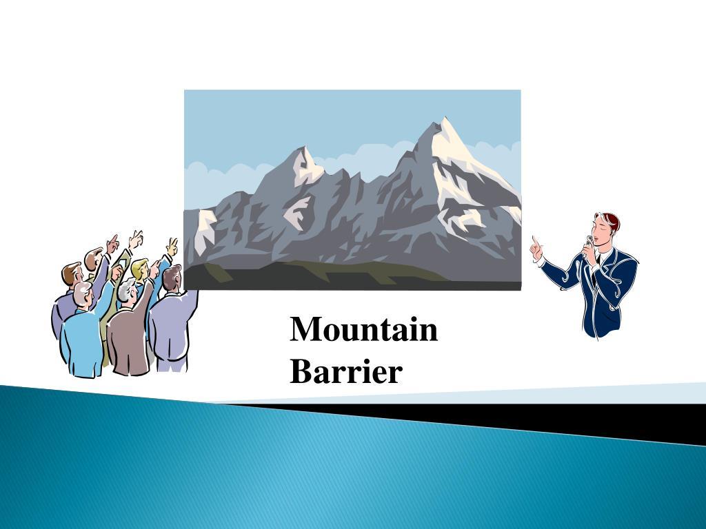 Mountain Barrier