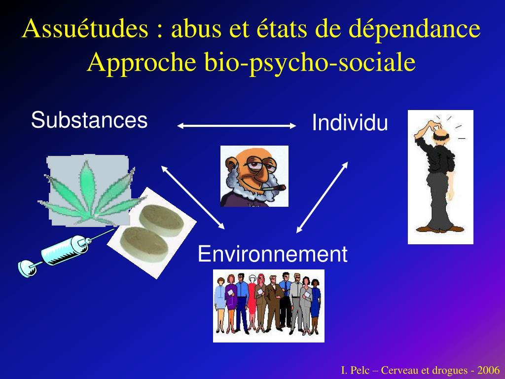 Assuétudes : abus et états de dépendance