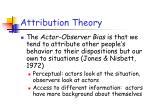 attribution theory47