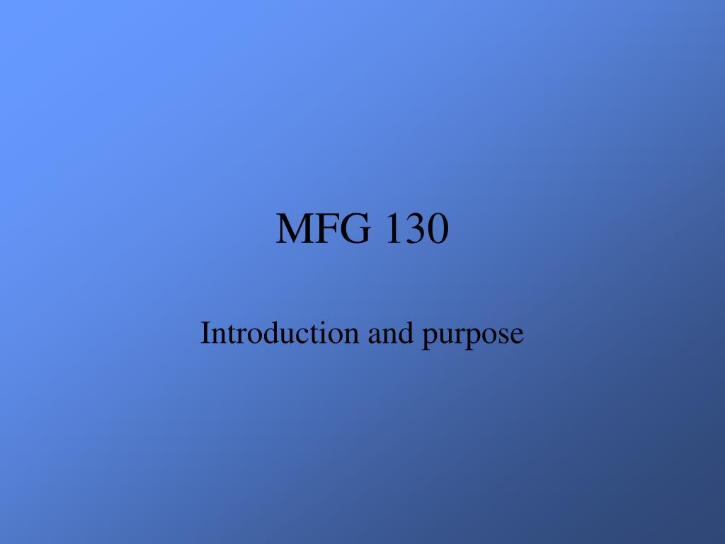 mfg 130 l.