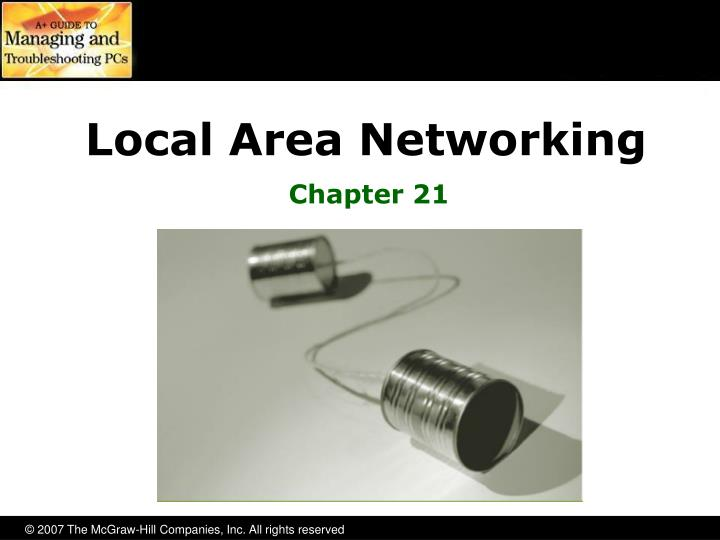 local area networking n.
