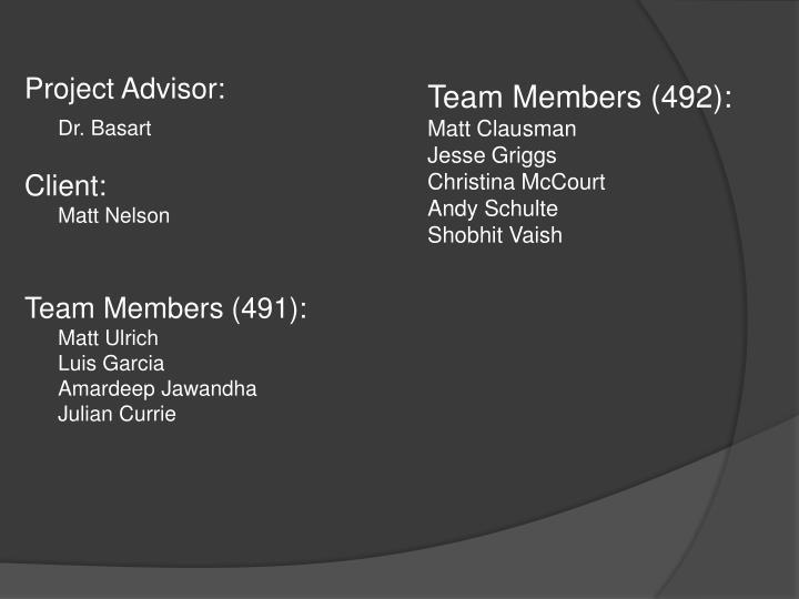 Team Members (492):