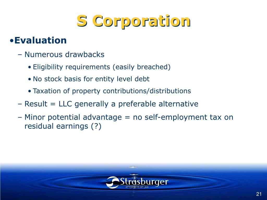 S Corporation