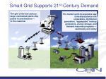 smart grid supports 21 st century demand