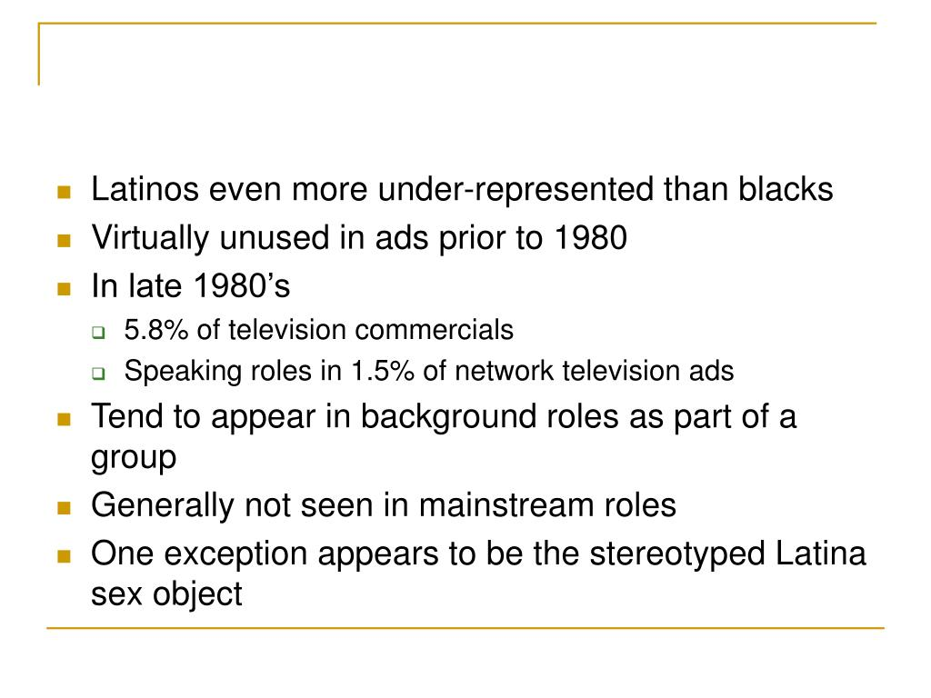 Latinos even more under-represented than blacks