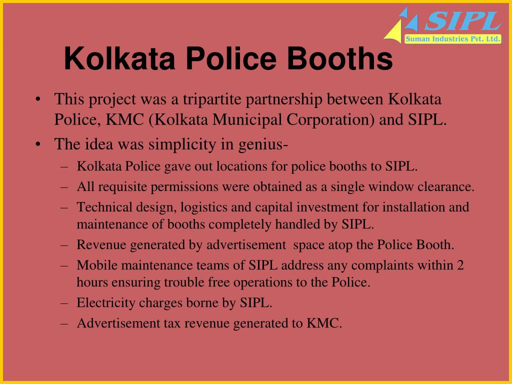 Kolkata Police Booths