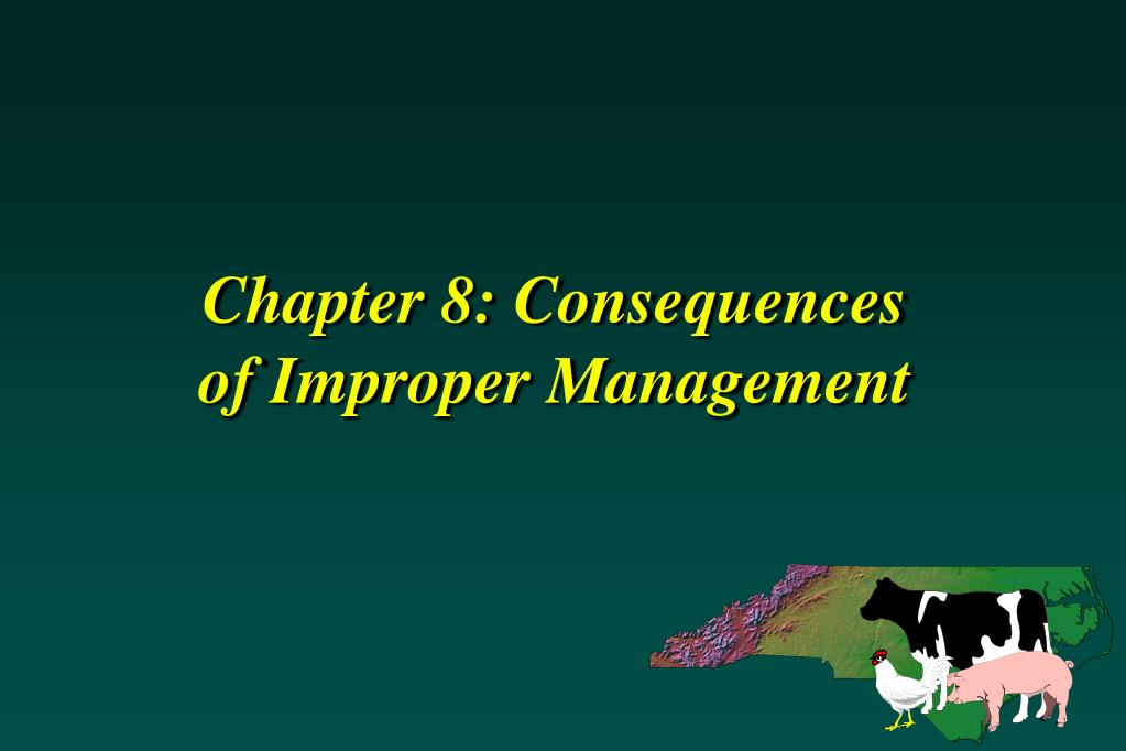 Chapter 8: Consequences