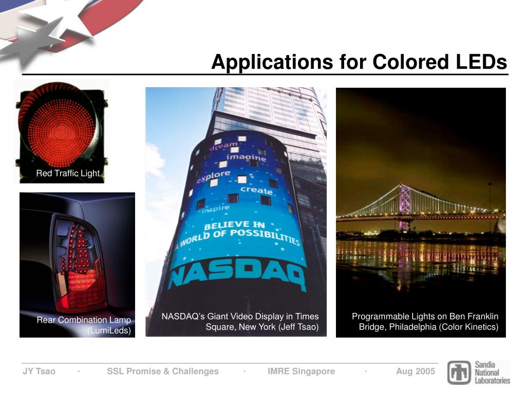 Applications for Colored LEDs