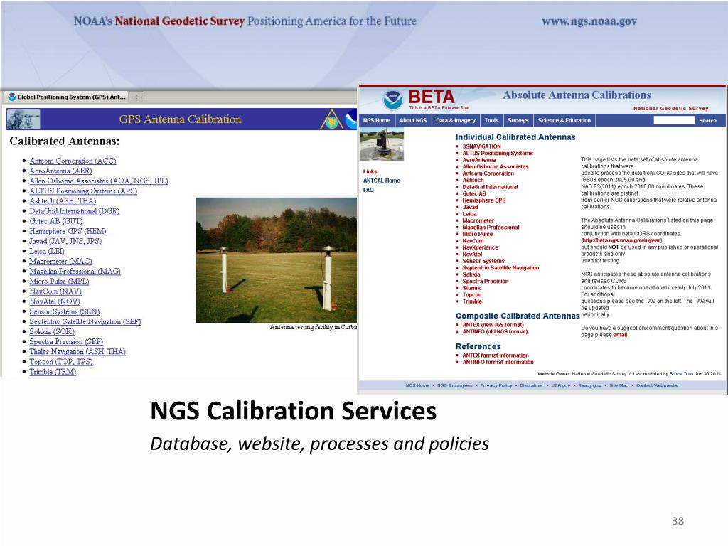 PPT - GNSS Absolute Antenna Calibration at the National
