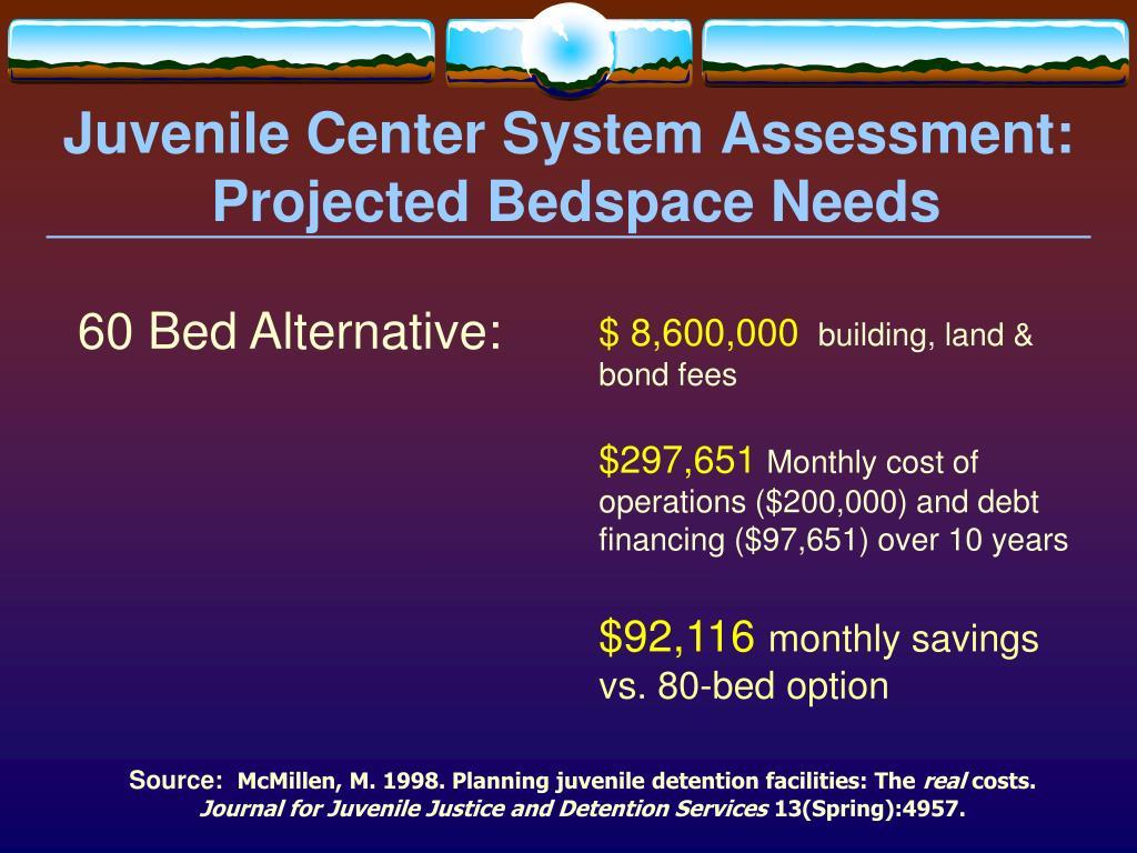 Juvenile Center System Assessment: