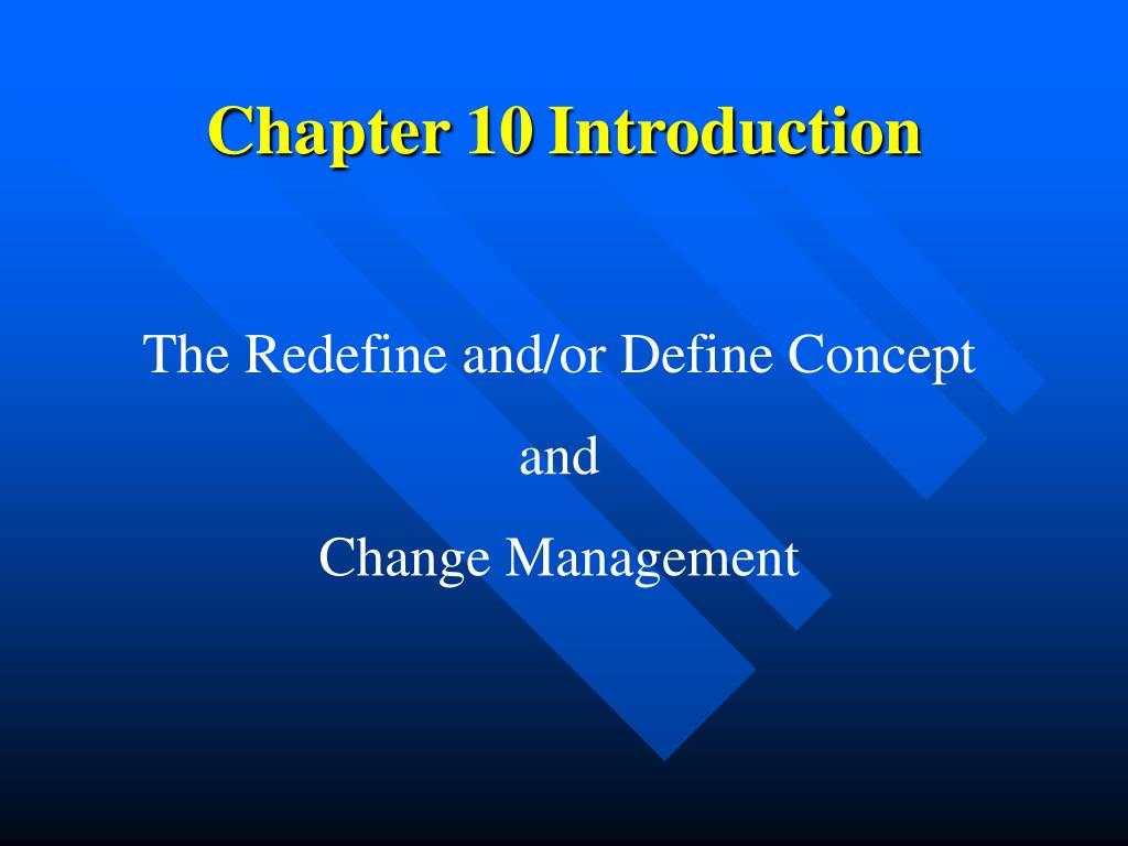 chapter 10 introduction l.