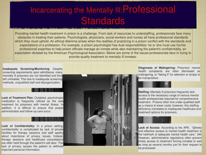 Ppt Prison Mental Illness Powerpoint Presentation Id 390908