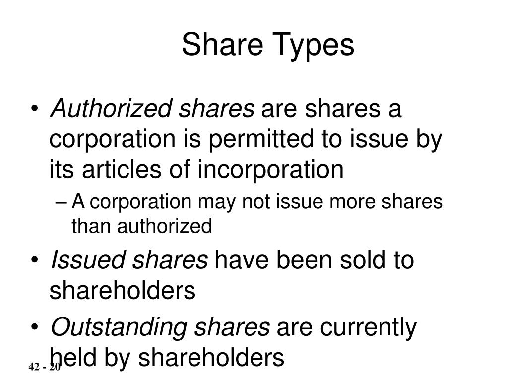Share Types