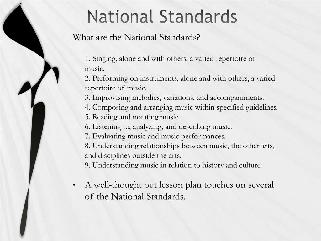 National Standards
