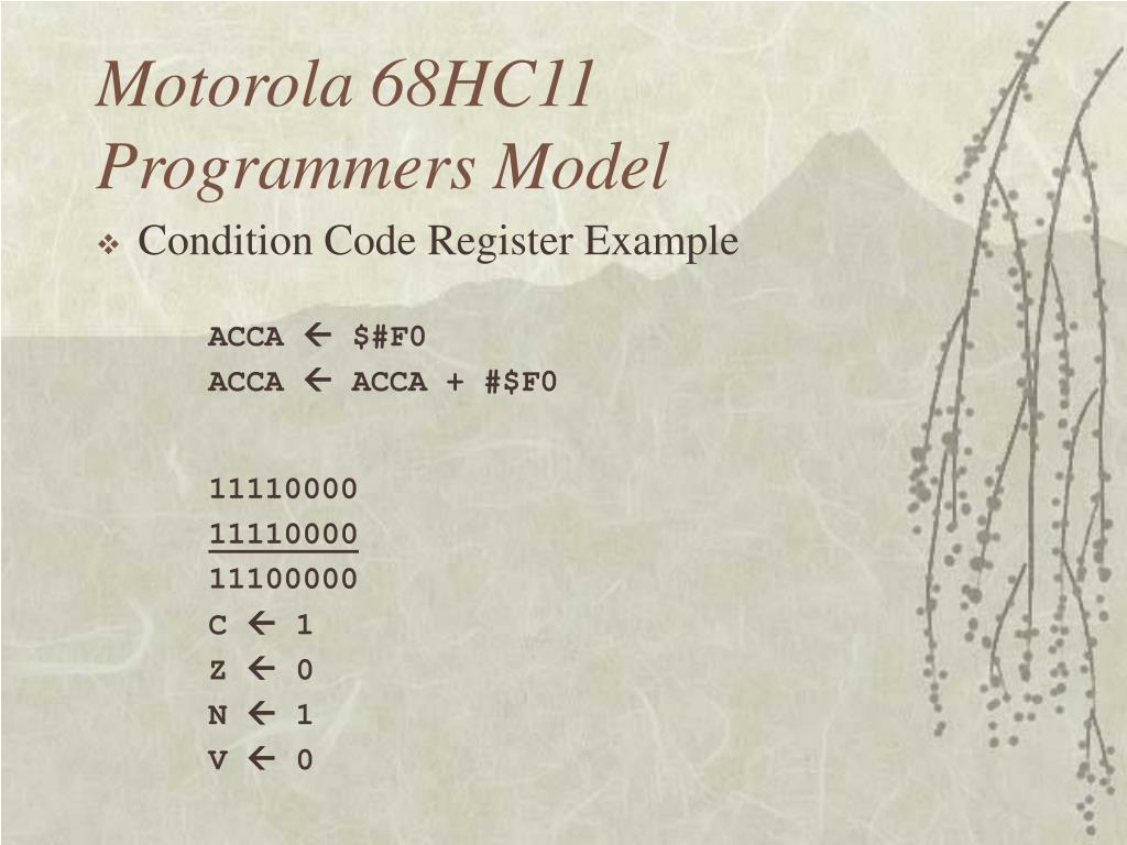 Motorola 68HC11