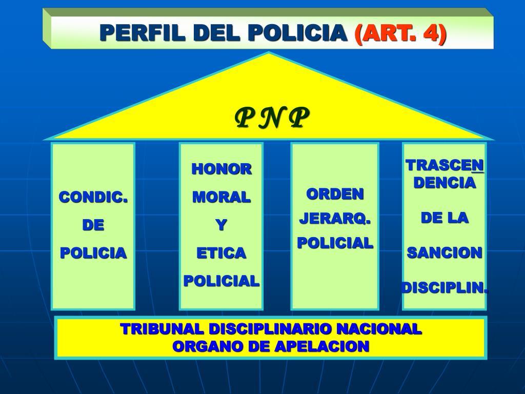 PERFIL DEL POLICIA