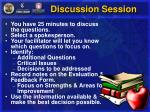 discussion session48