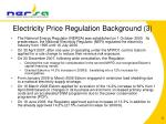 electricity price regulation background 3