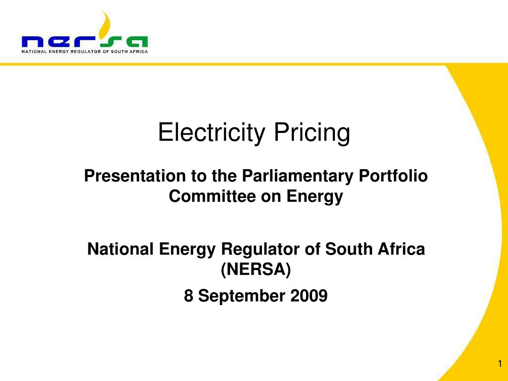 electricity pricing l.