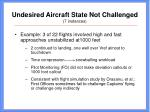 undesired aircraft state not challenged 7 instances